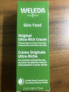 Weleda Skin Food For Dry and Rough Skin 2.5 Oz   10/2021