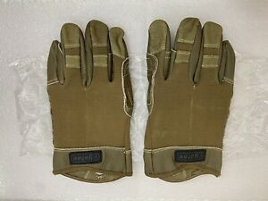 Yates Military Fast Rope Rappel Gloves. Leather. Large. Brand NEW. Free Shipping