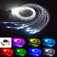 Flash Point Curtain Decoration Lamp 16W LED Fiber Optic Lights Kit Touch Remote