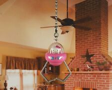 Hello Kitty UFO Gift Pink Ceiling Fan Pull Light Lamp Chain Decoration K1147 C