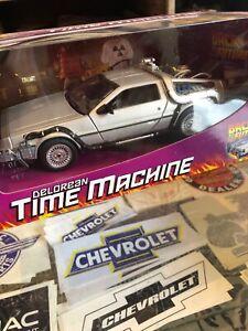 Back To The Future Delorean Time Machine 1:24 Scale Welly