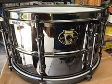 Ludwig Black Magic Snare Black 7X13 Perfect Nice FREE SHIPPING IN THE USA 48 !