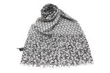 Woman s scarf Renato Balestra pashmina line x3497 gray flowers e3fde7f87ec8