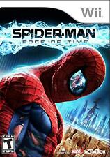 Spider-man Edge of Time Nintendo Wii Game only !