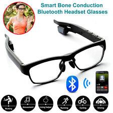 Bluetooth Stereo Headset Headphone Bone Conduction Glasses for iPhone Samsung US