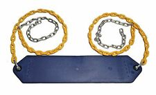 PlaySystemParts Belt Swing w/Coated Chain for Swing Sets w/ Clevis chain connect