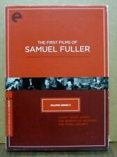 CRITERION COLLECTION Eclipse Series 5 The First Films of SAMUEL FULLER 3-DVD Set