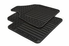 2009-2017 Traverse Premium All Weather Black Front GM Floor Mats OEM 22890016 OE