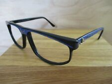 JEAN LOUIS SCHERRER vintage 80s black made France sunglass eyeglass frames