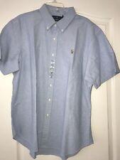 Polo Ralph Lauren Small  Pony  Baby Blue Oxford   Shirt XLarge  XL