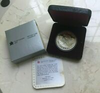 1985 Canada Dollar Silver Proof - National Parks - Original Box and COA