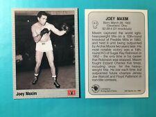 JOEY MAXIM 1991 AW BOXING CARD CARD #28