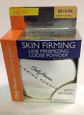 Sally Hansen Skin Firming Line Minimizing Loose Powder ( CREAMY NATURAL ) NEW.