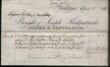 More details for 1871 dumfries, dock head, joseph kirkpatrick, joiner/contractor, to mckenzie