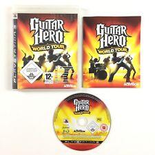 Guitar Hero World Tour PS3 / Jeu Sur Playstation 3
