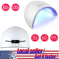 36W Professional LED UV Nail Polish Lamp Dryer Gel Acrylic Curing Light Spa Kit