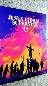 JESUS CHRIST SUPERSTAR (1973) CINEMA FILM MOVIE SOUVENIR BROCHURE PROGRAMME