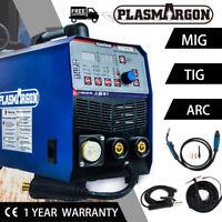 DC Inverter MIG TIG Stick Welder Gas/Gasless 220V MIG Welding Machine 2T/4T