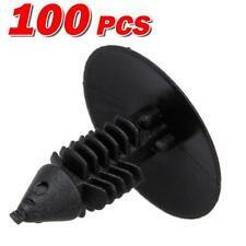 100x Nylon Front Bumper Fender Shield Hood Clips Rivet Retainer for Acura RDX RL