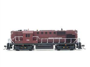 HO Scale Kato Anacoco & Sandy Creek RS11 Diesel Loco Custom #194 Does Not Run