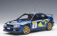 Autoart 89791 - 1/18 SUBARU IMPREZA WRC 1997 Rally Monte Carlo #4 (Liatti/...)