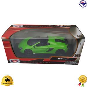 Diecast Model Car 1:24 McLaren 6505 Spider 79326 Motor Max Boxed