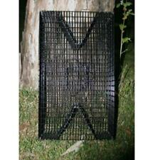 PVC Coated Rectangle Bait Fish Trap: Bream Trap – Perch Trap – Pinfish Trap – Ee