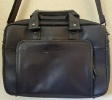 """Hp Elite Topload Columbian Brown Leather Bag Notebook Case For 14"""" T9H72Aa Strap"""