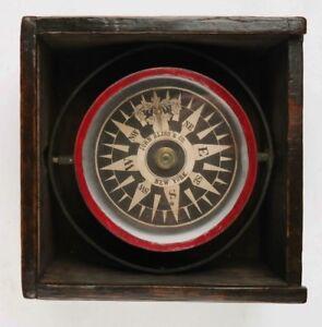 Dry Card Compass - John Bliss & Co, New York, 19th century
