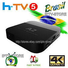 A2 Portuguese Version 4K IPTV Internet Live Brazilian TV channel Box | IPTV5plus