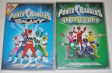Kid DVD Lot - Saban's Power Rangers in LOST GALAXY & TIME FORCE (New, damaged)