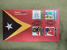 #D246. 2002  INDEPENDENCE EAST TIMOR, TIMOR-LESTE, STAMPED ENVELOPE