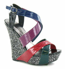 Women's Strappy Wedge Heels