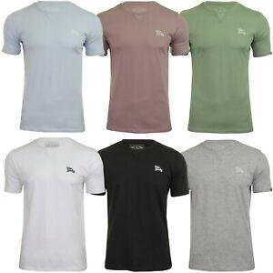 Mens Tokyo Laundry Short Sleeve Crew Neck Cotton Stretch Plain Summer T-Shirt