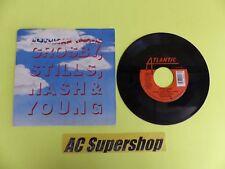 "Crosby Stills Nash Young american dream - & - 45 Record Vinyl Album 7"""