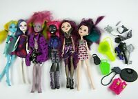 Monster High Ever After High Dolls Lot of 6 Dolls w Clothes Shoes & Accessories