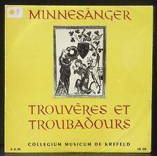 Minnesänger, troubadours & trouvères Collegium Musicum de Krefeld Robert Haas