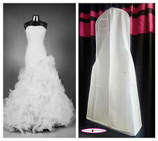 Huge Monster Extra Large White Breathable Wedding Gown Bag Dress Garment Bag