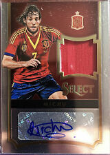 2015-16 Panini Select Soccer Michu Spain Auto Jersey Patch  013/185 Card