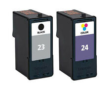 Non-OEM Replaces 23 & 24 For Lexmark X4350 X4500 Ink Cartridges