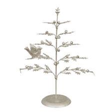 Alberi di Natale argento in metallo