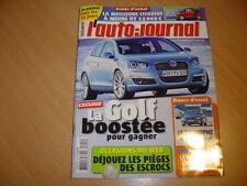 AJ N°712 BMW 325d / Alfa 159 2.4 JTD / Audi A4 2.7 V6 TDi / Lexus IS 220d.