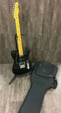 2014 Fender Modern Player Telecaster Plus Electric Guitar Charcoal China w Case