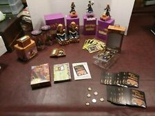 Large Harry Potter Lot of Enesco Ornaments, cards, Figurines, bookends,  Nice!
