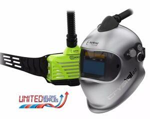 Optrel Crystal 2.0 Welding Helmet - e3000X PAPR System