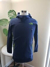 NWT THE NORTH FACE Boys Jacket  windbreaker hoodie Cosmic Blue XS/S/L
