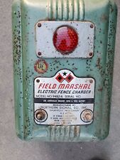 Vintage Field Marshal Electric Fencer - turquoise