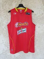 Maillot basket ESPAGNE camiseta ESPANA SPAIN shirt FIBA Li-Ning basketball L