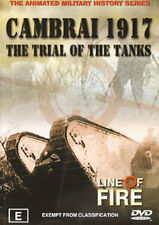 WORLD WAR 2 LINE OF FIRE - CAMBRAI 1917 TRIAL OF TANKS DVD