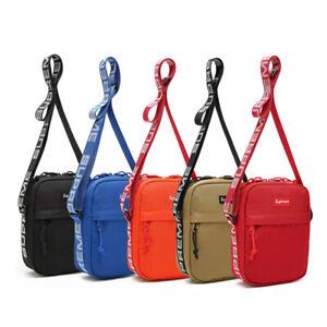 Unisex Supreme Messenger Bag Shoulder Bag Crossbody Sport Travel Casual Canvas